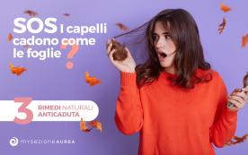 Capelli in autunno: 3 rimedi naturali per contrastarne la caduta