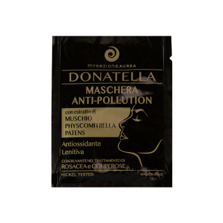 DONATELLA - Maschera Viso Monouso Anti-Pollution, coadiuvante per il trattamento di Rosacea e Couperose