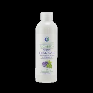 Ricarica per Spray Igienizzante Mani Superfici e Ambienti - Timo e Lavanda